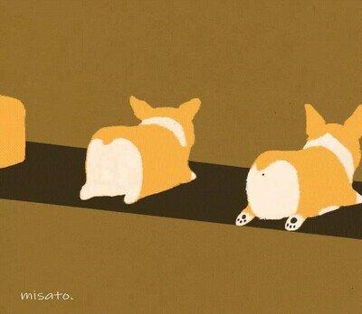 Enlace a Así se convierte el pan en un perro. Por Misato