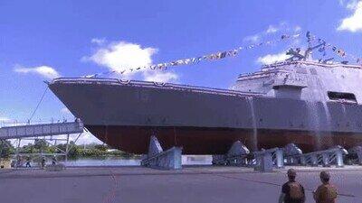 Enlace a Así se colocan los grandes barcos en el mar