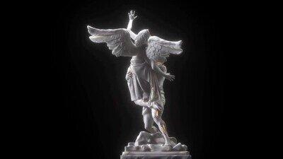 Enlace a Aunque te cueste de creer estás viendo una escultura digital