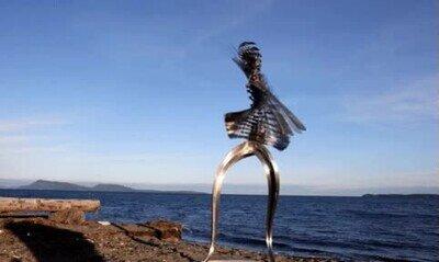 Enlace a Me daría mal rollo ver esta escultura en el mar