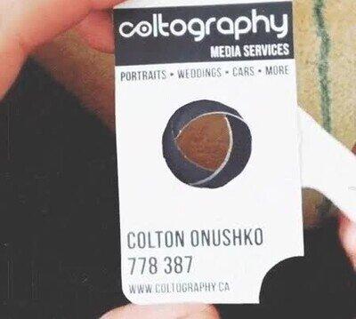 Enlace a Una genial tarjeta de trabajo para un fotógrafo