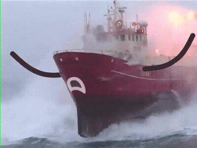 Enlace a Ojalá los barcos fuesen así en la vida real