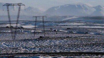 Enlace a Así de tranquila es la hora punta en Islandía