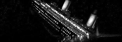 Enlace a Así se vio el hundimiento del Titanic en plena noche