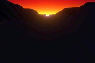 Enlace a Lo que se siente al volar hacia una puesta de sol