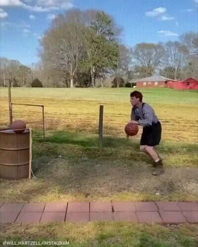 Enlace a Una genial forma de entrenar tu lanzamiento exterior