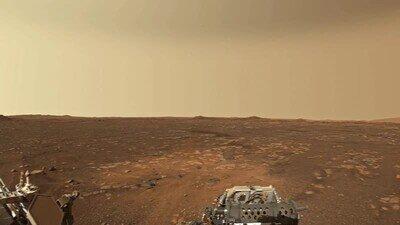 Enlace a La superfície de Marte vista desde el Perseverance Rover