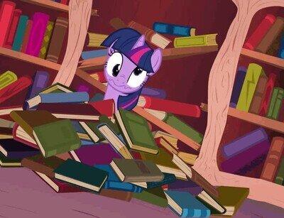 Enlace a Cuando terminas de leer todos los libros que tienes en casa