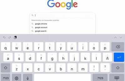 Enlace a Bucle infinito de Google