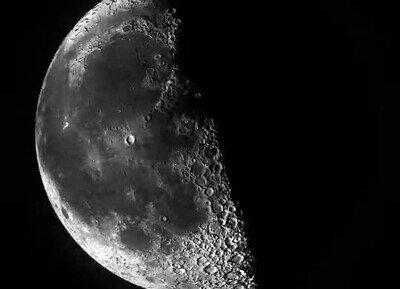 Enlace a La luna es realmente preciosa, la mires como la mires