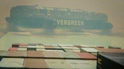 Enlace a Así se ha retirado el barco del Canal de Suez