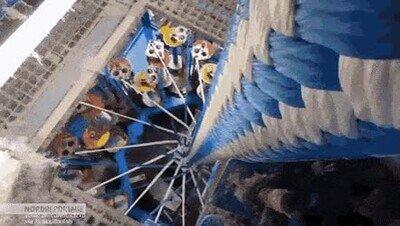Enlace a Es una pasada ver cómo se construye esta cuerda