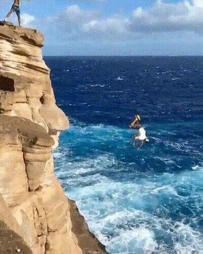 Enlace a Uno de los saltos más impresionantes que he visto en mucho tiempo
