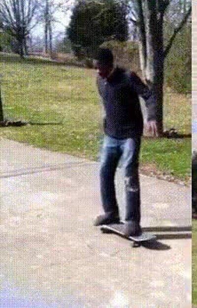 Enlace a Es una mala idea subir a un skate cuando no tienes ni idea