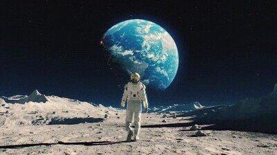 Enlace a Desde la luna se ven imágenes realmente épicas