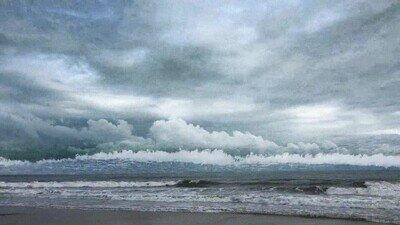Enlace a Te explotará la cabeza ver cómo las olas se convierten en nubes