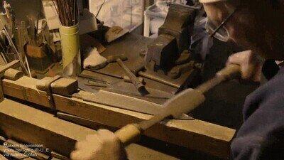 Enlace a Creando un cuchillo con una herramienta de origen japonés