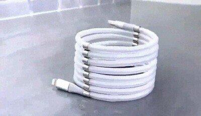 Enlace a Truco para guardar tus cables de la forma más eficiente