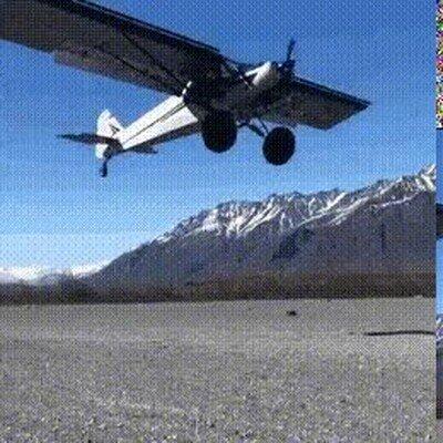 Enlace a Un aterrizaje simplemente perfecto