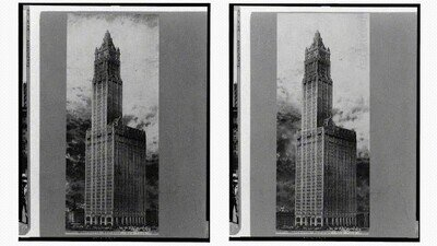 Enlace a Un logrado recrear una foto antigua en tres dimensiones