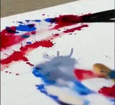 Enlace a Lo que hace este señor con la pintura es alucinante