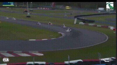 Enlace a La curva maldita de una pista de karts