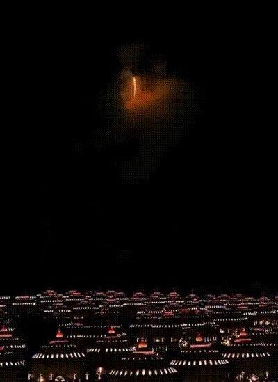 Enlace a Uno de los fuegos artificiales más espectaculares que he visto