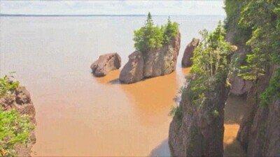 Enlace a Es una pasada ver cómo sube y baja el nivel del agua