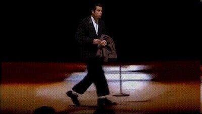 Enlace a Nunca pensé que vería a Travolta haciendo el moonwalk