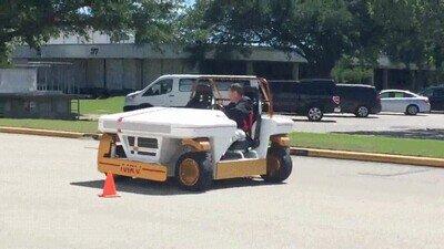 Enlace a Un coche modular robótico de la NASA