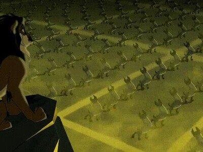 Enlace a La escena más terrorífica de El Rey León