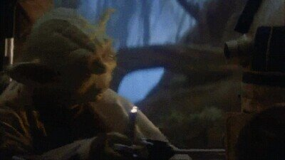 Enlace a Yoda fue salvaje con R2D2