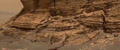 Enlace a La increíble imagen del Curiosity desde Mont Mercou, en Marte
