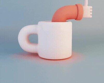 Enlace a La taza que necesito para que nadie me hable a primera hora