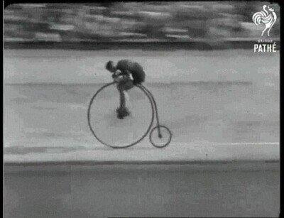 Enlace a La bicicleta de Penny Farthing en 1928