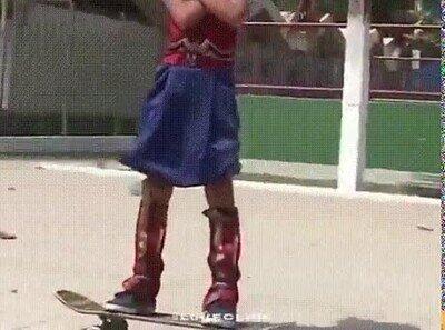 Enlace a Hace 6 años Tony Hawk twiteó un video de Rayssa Leal. Hoy con 13 años tiene una medalla olímpica