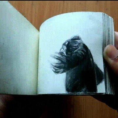 Enlace a Godzilla vs Kong Flipbook animation