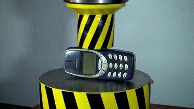 Enlace a Nada puede con un Nokia viejo