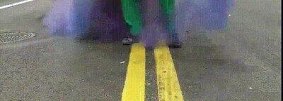 Enlace a Impresionante lo del humo de colores