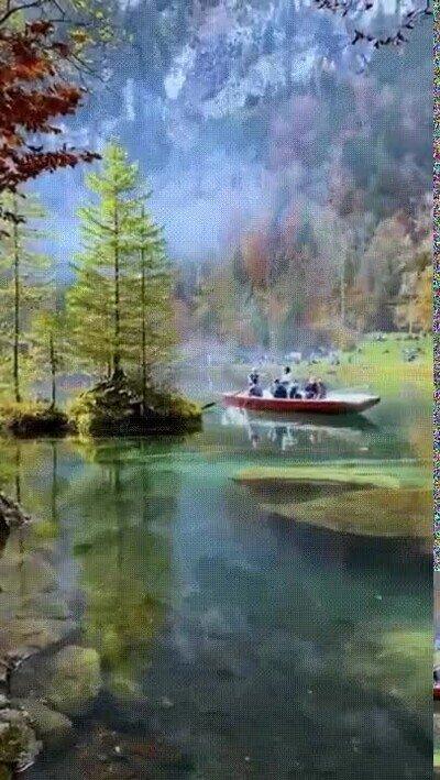 Enlace a Suiza tiene algunos de los paisajes más bellos