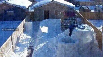 Enlace a La alegría de los niños en un día de nieve