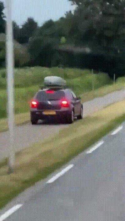 Enlace a Hay gente realmente estúpida en la carretera