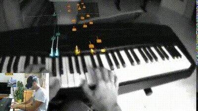 Enlace a Un genial truco para aprender a tocar el piano