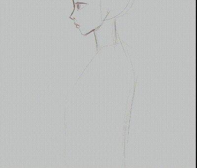 Enlace a El proceso de dibujo de una Geisha