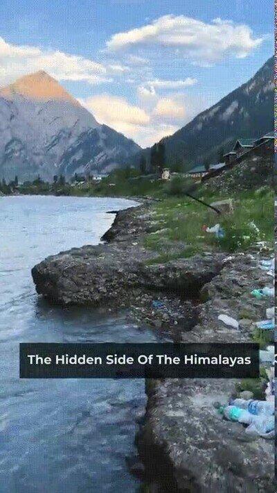 Enlace a Es una pena lo que está pasando en el Himalaya