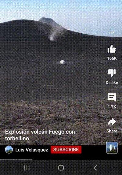 Enlace a Un tornada y una erupción volcánica al mismo tiempo