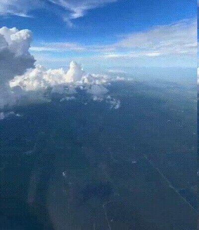 Enlace a Volar por encima de las nubes es una de las cosas más hermosas que puedes ver