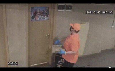 abrir,pizzero,puerta