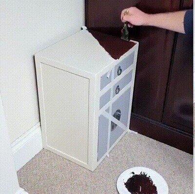 Enlace a Pintando un mueble invisible para decorar la casa