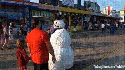 Enlace a El pobre muñeco de nieve no tenía culpa de nada